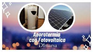 Instalación Aerotermia con Fotovoltaica