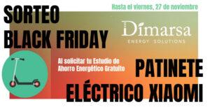 Sorteo Patinete Dimarsa Black Friday